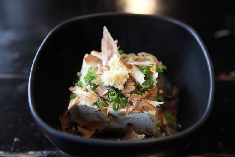 Tofu japonês do coalho de feijão imagem de stock royalty free