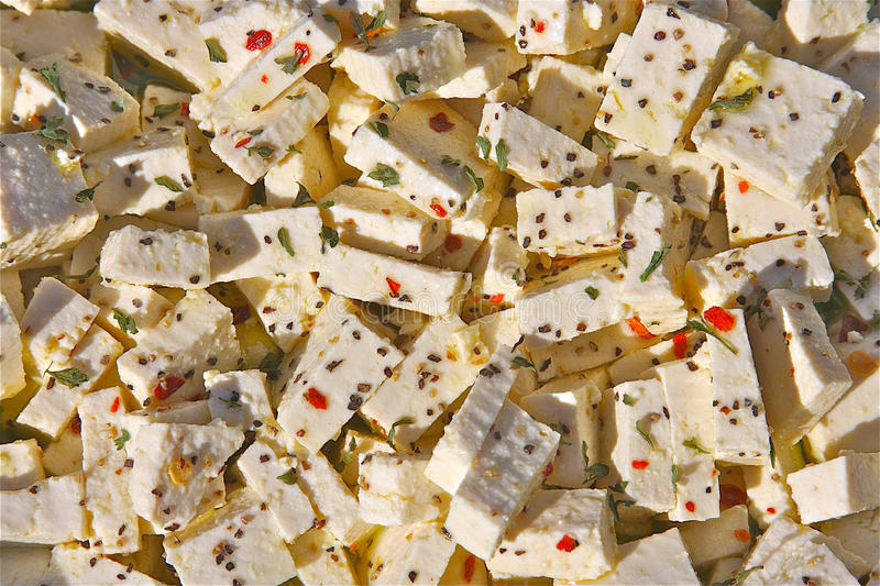 Download Tofu in Marinade stock image. Image of cubed, cube, flakes - 15265235