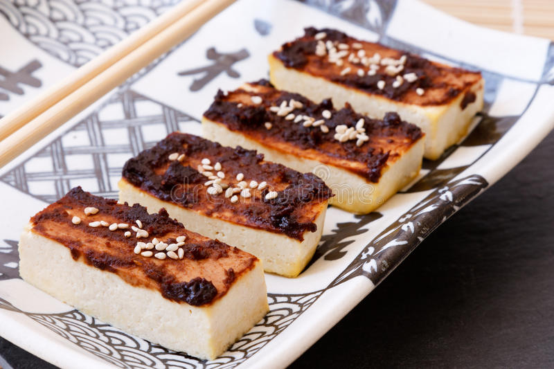 Download Tofu With Miso Marinade Stock Photography - Image: 18960702