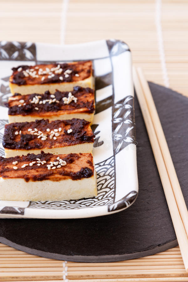 Download Tofu with Miso Marinade stock photo. Image of bean, marinated - 19119126