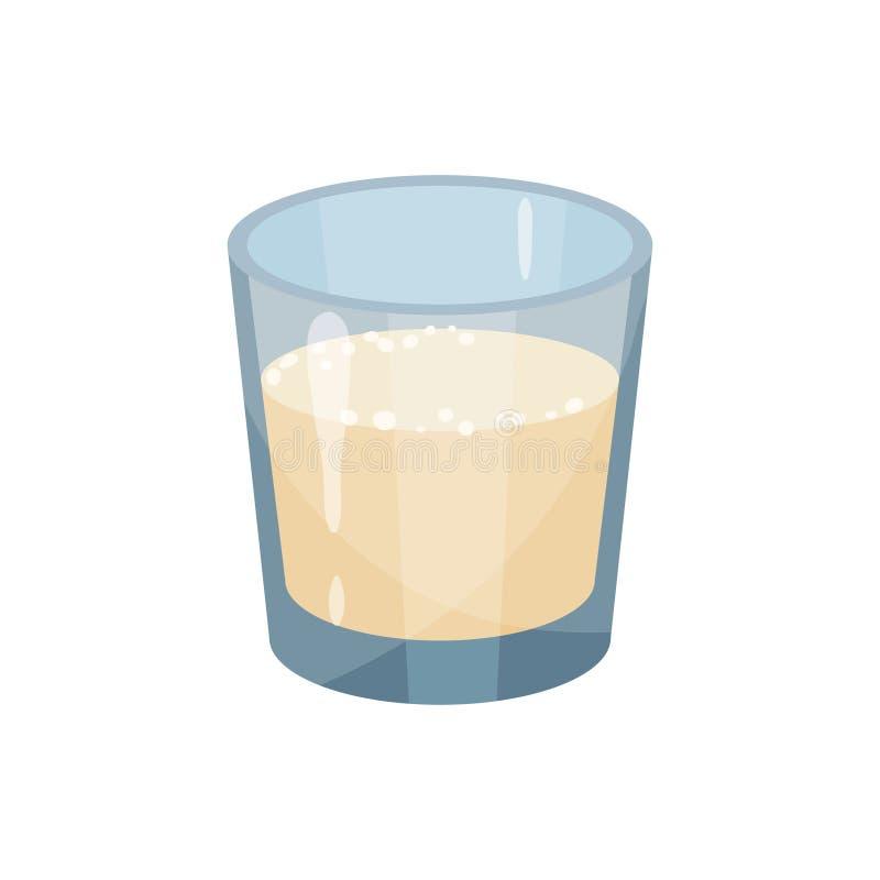 Tofu on white background. Vector flat illustration. stock illustration