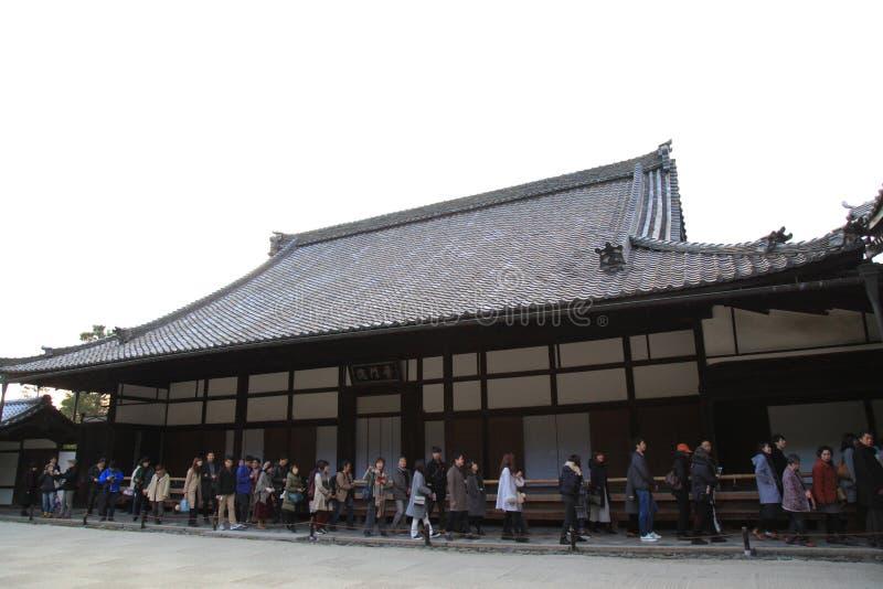 Tofukuji Temple : KYOTO - 25 Nov 2017: Crowds gather at Tofukuj stock photos