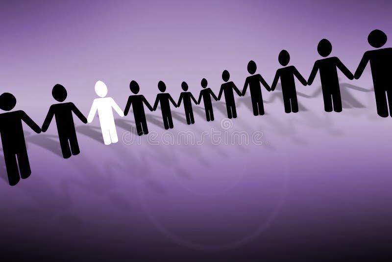 Together vector illustration