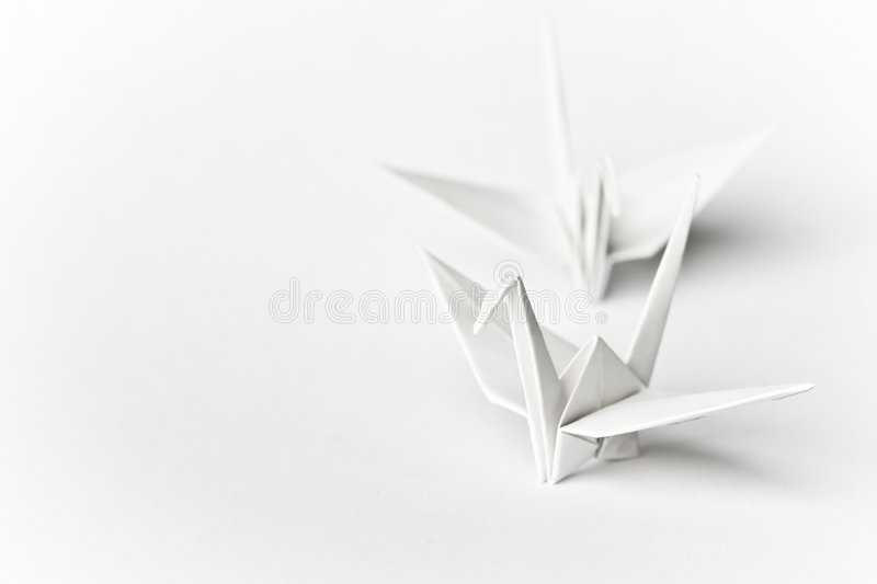 Download Together stock image. Image of paper, folding, white, japanese - 6490923