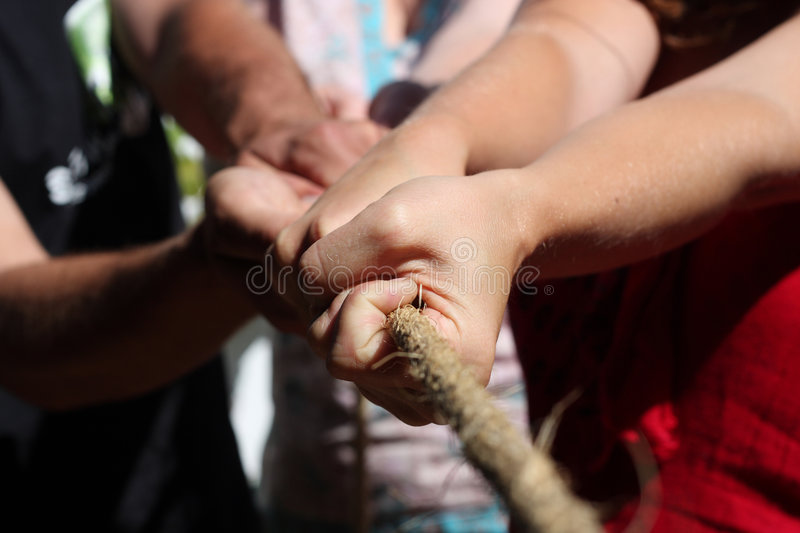 Download Together stock photo. Image of rope, competition, together - 9203748