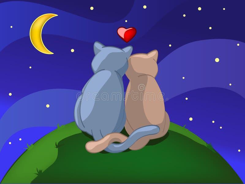 Download Together forever stock vector. Image of star, illustration - 9129042