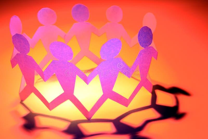 togetherness royaltyfria bilder