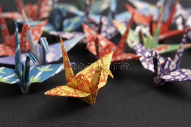 Download Togetherness stock image. Image of crane, community, paper - 3889869