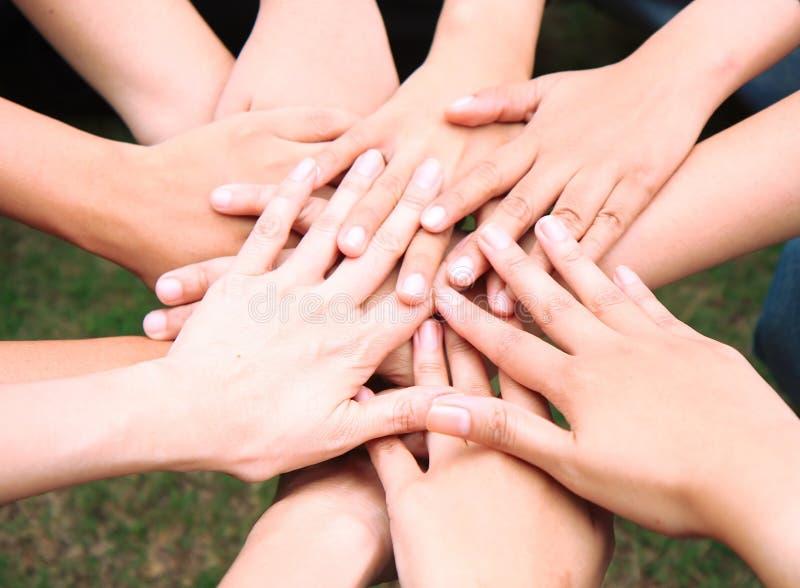 togetherness arkivbild