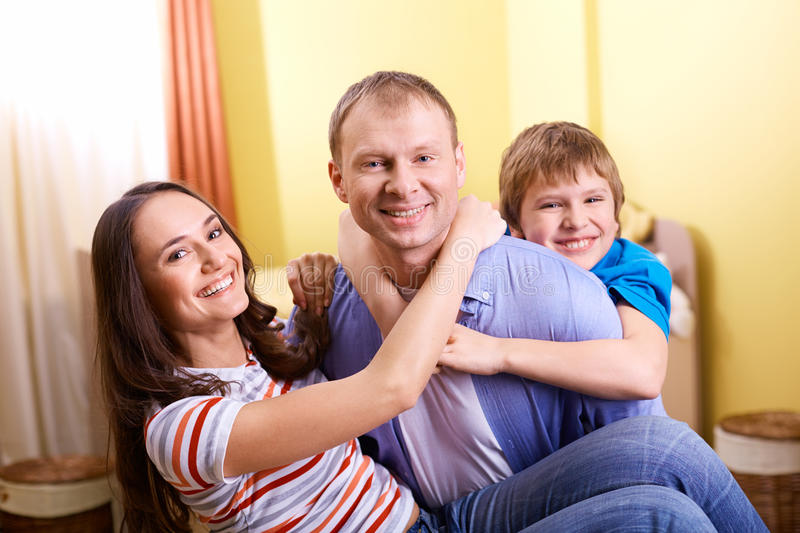 Download Togetherness stock image. Image of cheerful, home, childhood - 33832033