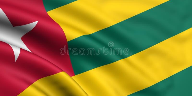 Togo bandery ilustracja wektor