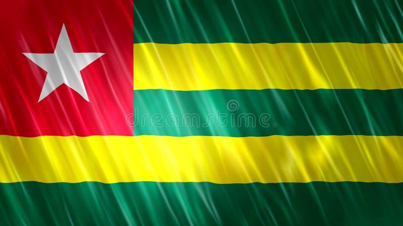Togo Flag ilustración del vector