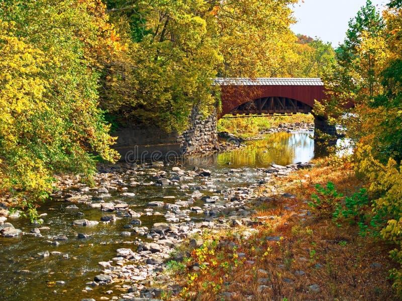 Tohickon Creek Aqueduct royalty free stock photo