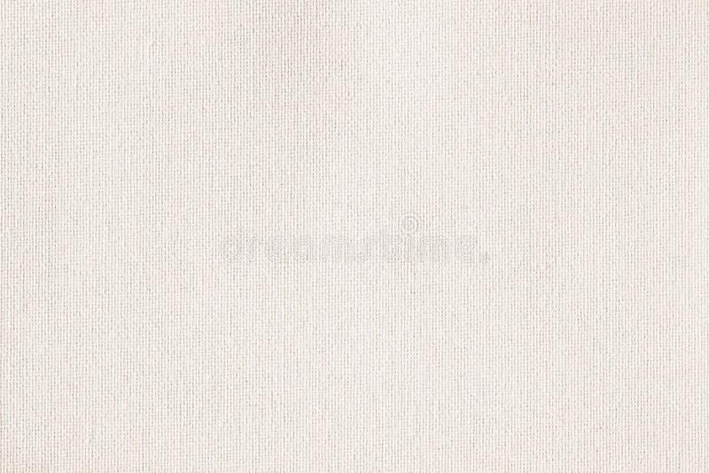 Toile à sac, toile, tissu, jute, modèle de texture pour le fond Couleur douce crème Petite diagonale photographie stock libre de droits