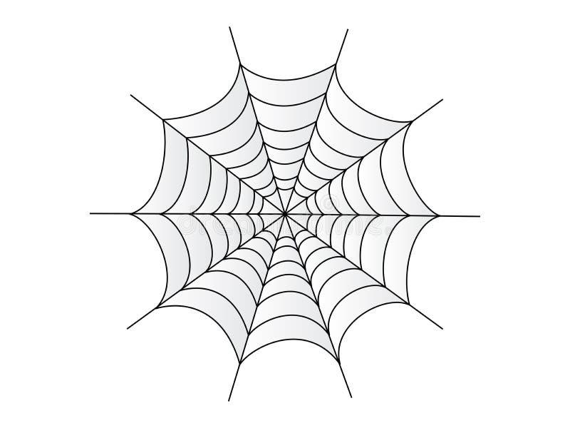 Toile d'araignée illustration stock