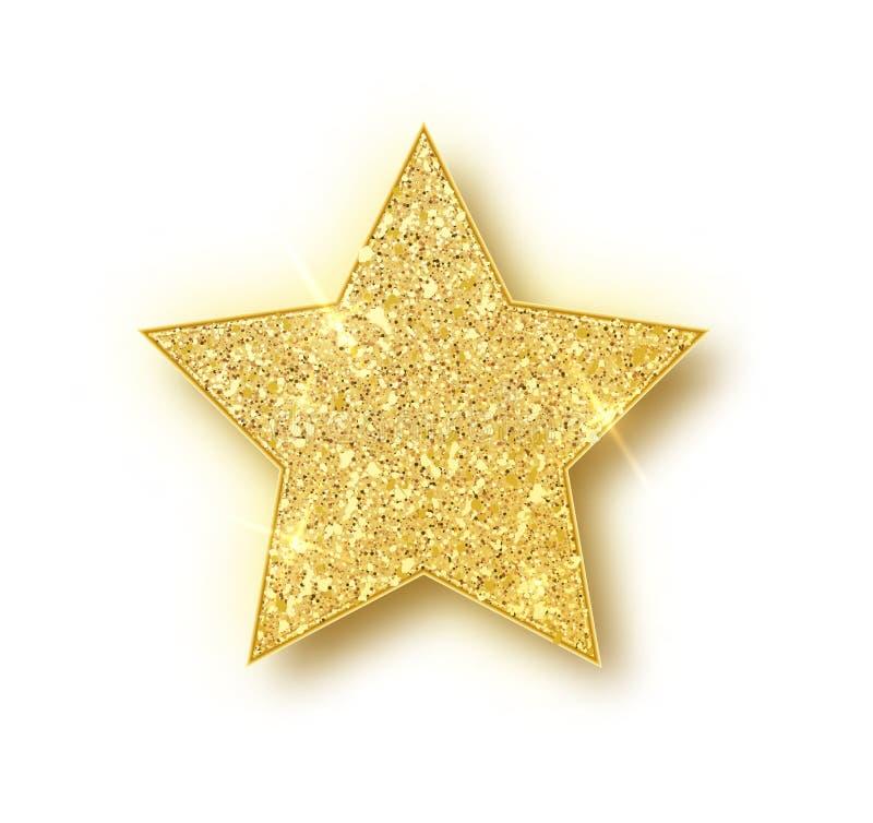 ?toile de vecteur de scintillement d'or ?l?ment de luxe de conception d'?tincelle d'or Particules de vecteur illustration libre de droits