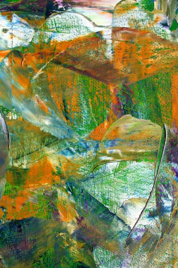 Toile peinte image stock