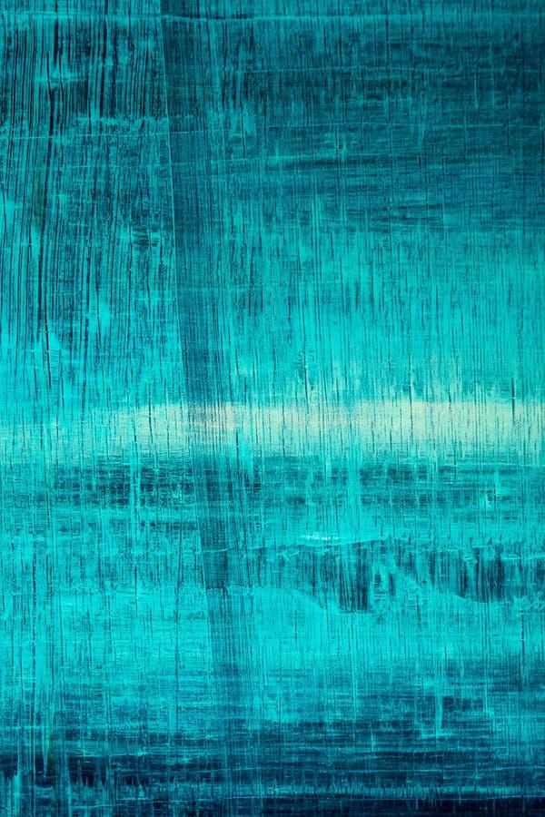 Toile peinte par abstrait Peintures à l'huile sur une palette image libre de droits