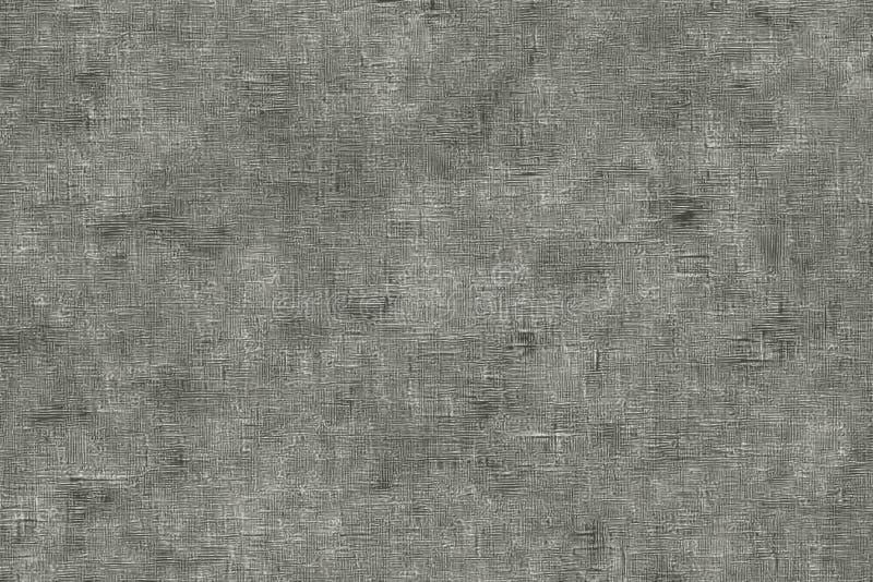 Toile texturisée avec l'effet de papier de journal de couleur grise illustration stock