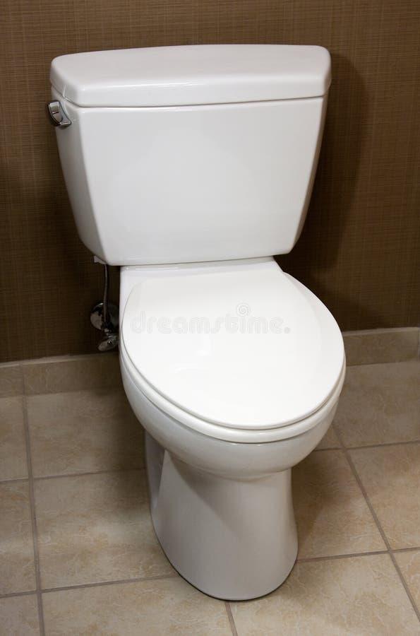 Toilet royalty-vrije stock afbeelding