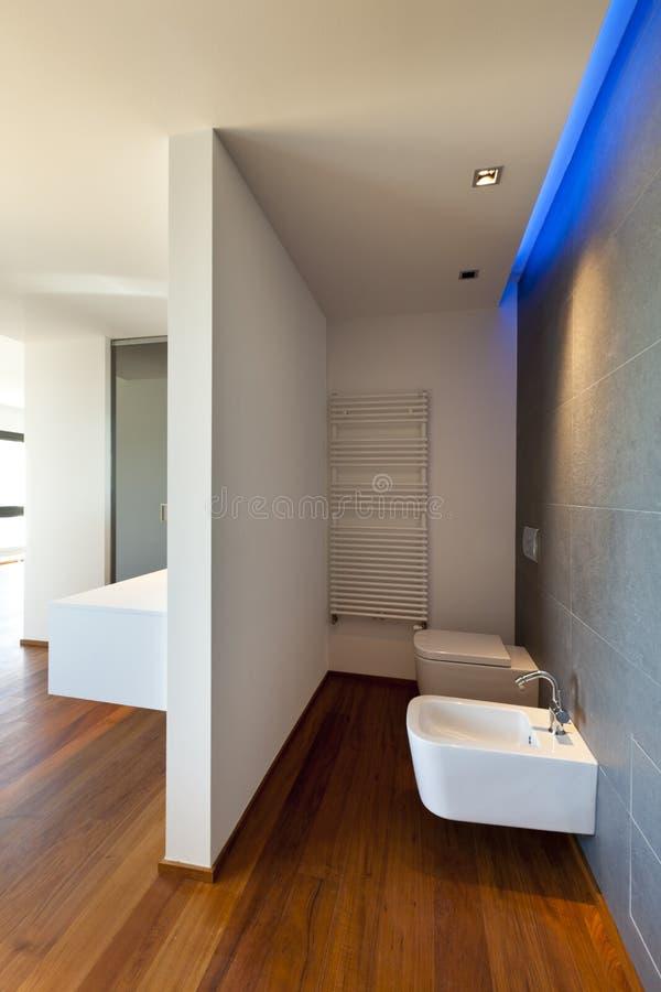 toilet and bidet stock photo image of parquet indoor 21490346. Black Bedroom Furniture Sets. Home Design Ideas