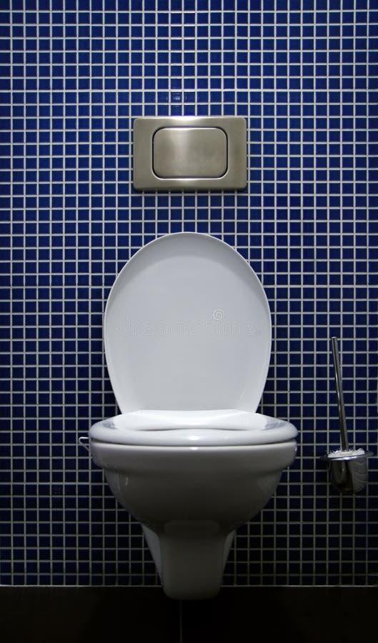 Toilet binnen royalty-vrije stock foto