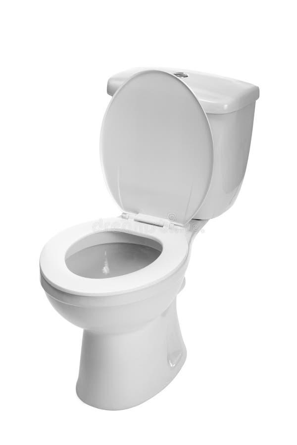 Toilet bowl. Photo on the white background stock photo