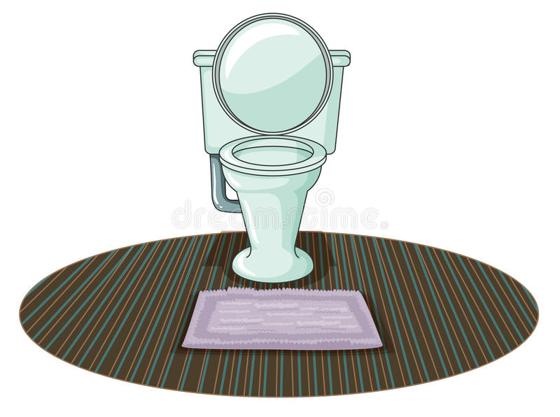 Download A toilet bowl stock vector. Image of bowl, graphic, illustration - 32201900