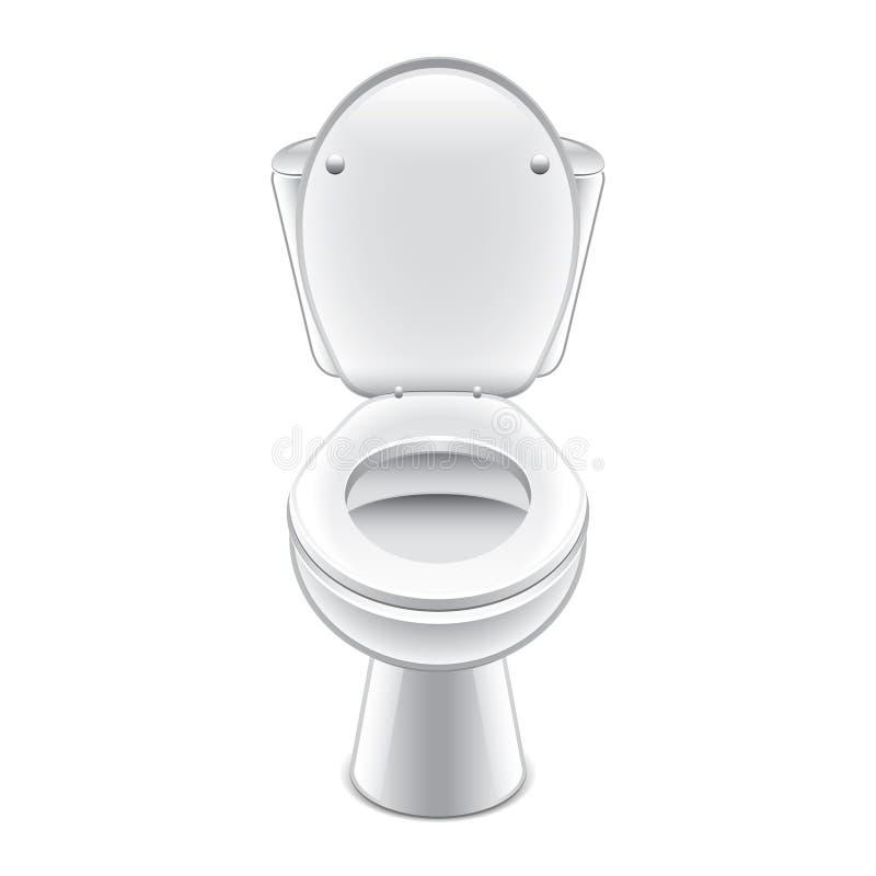 Download Toilet Bowl Vector Illustration Stock Vector - Illustration of closet, elegance: 40374535