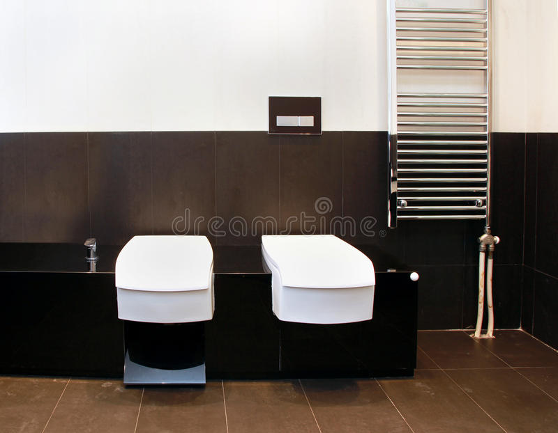 Toilet corner royalty free stock photo