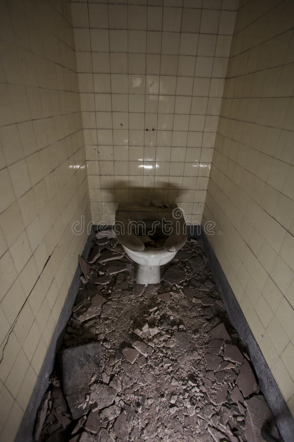 Download Toilet cubicle stock image. Image of dark, ground, dusty - 22990581