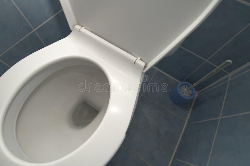 Toilet detail stock photo