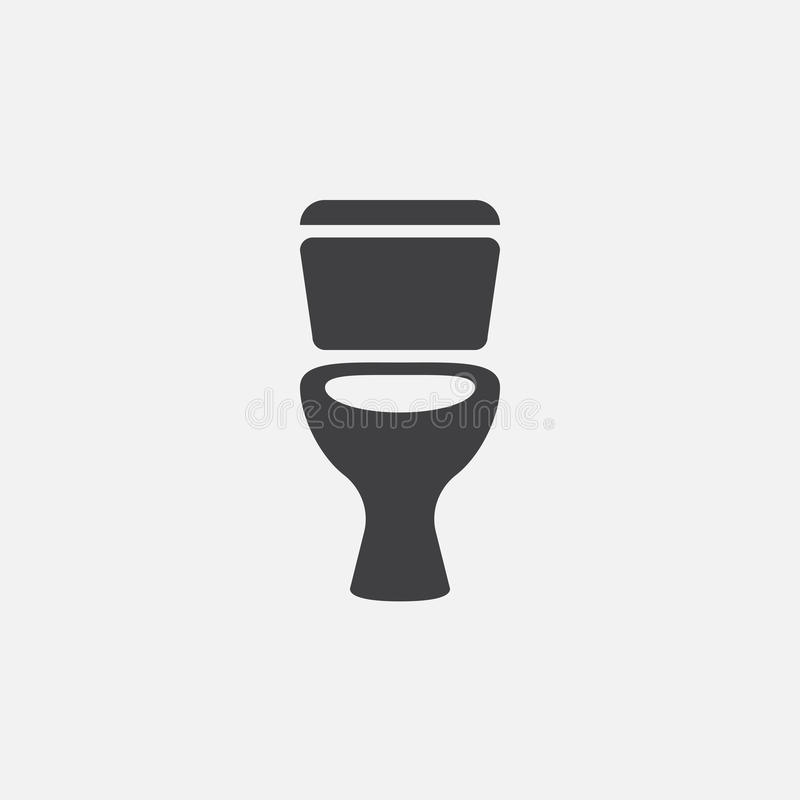 Toilet icon vector, solid color logo illustration, pictogram isolated on white. Toilet icon vector, solid color logo illustration, pictogram isolated on white vector illustration