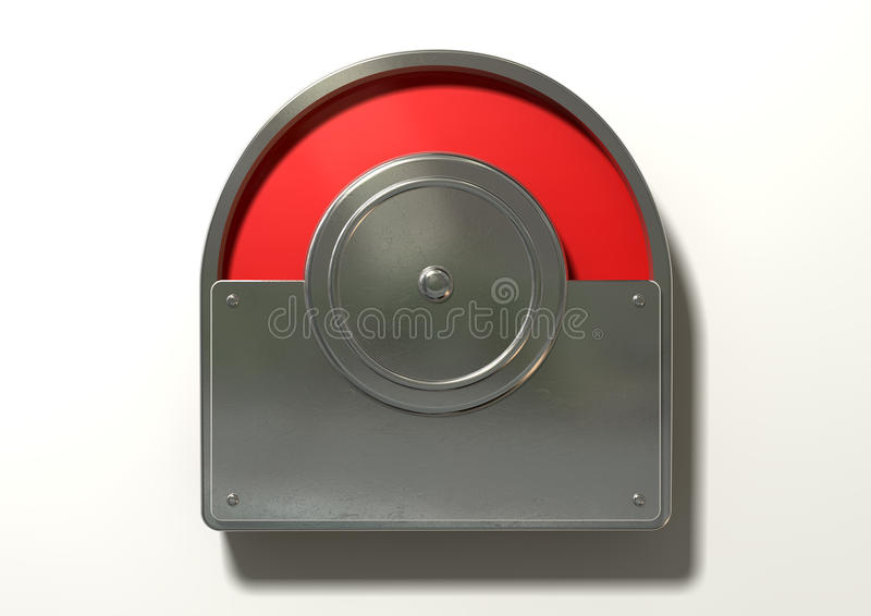 Toilet Indicator Red For Occupied Stock Photo - Image of ...