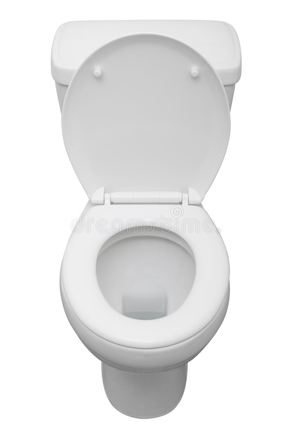 Toilet isolated royalty free stock image