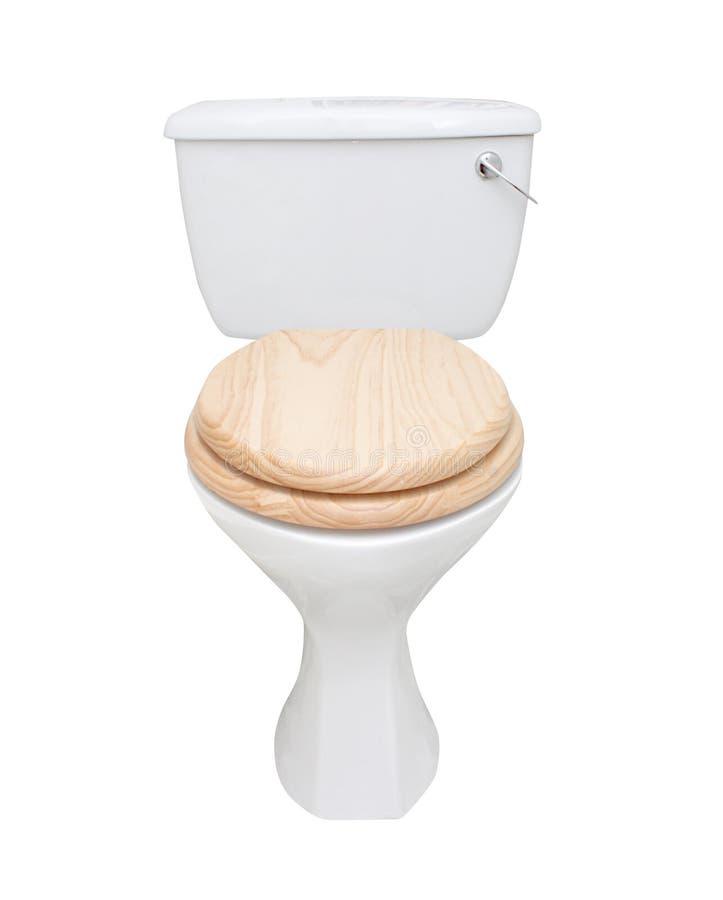 Toilet isolated on white. Toilet isolated on a white bg stock image