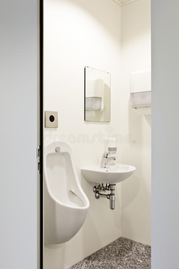 Download Toilet men stock image. Image of urinal, public, empty - 26298075