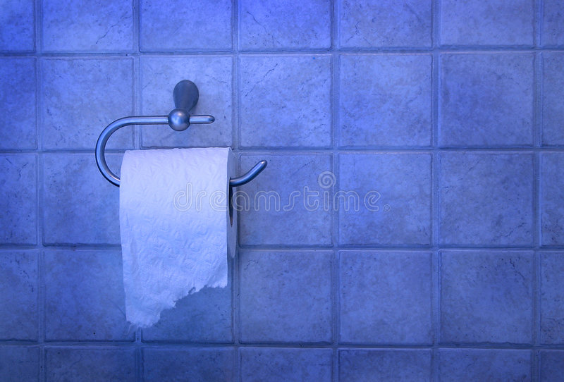 Download Toilet paper stock image. Image of situation, tile, human - 3559