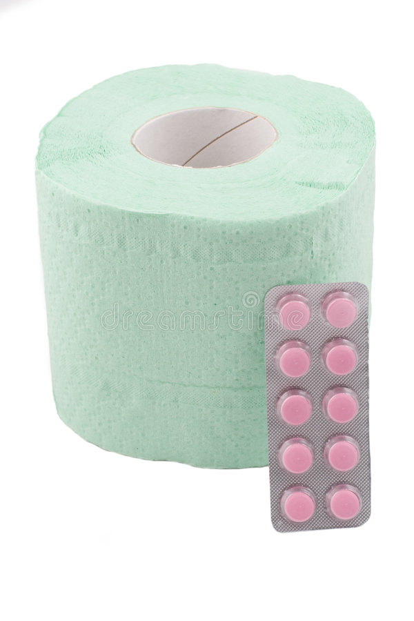 Download Toilet Paper And Drugs For Diarrhea Stock Photo - Image: 8519770