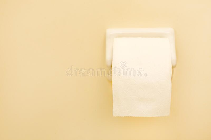 Toilet Paper Roll Isolated stock photos