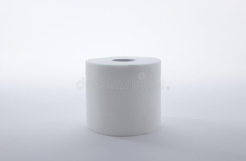 Toilet Paper. On white background stock image