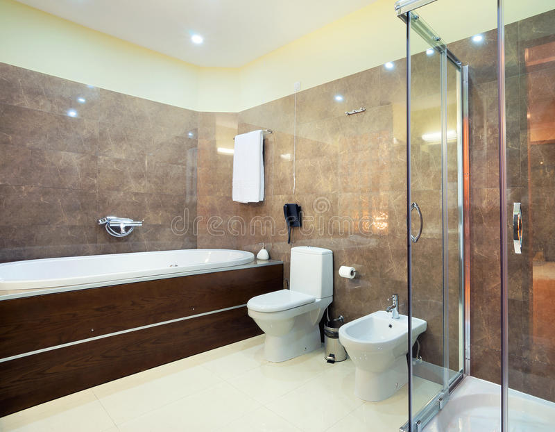 Download Toilet room stock photo. Image of lights, interior, leisure - 22004992