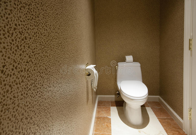Download Toilet room with phone stock photo. Image of ceramics - 19542860