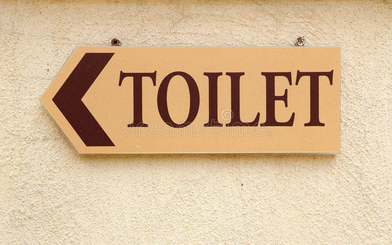 Download Toilet Sign On The Wall Stock Photos - Image: 32809433