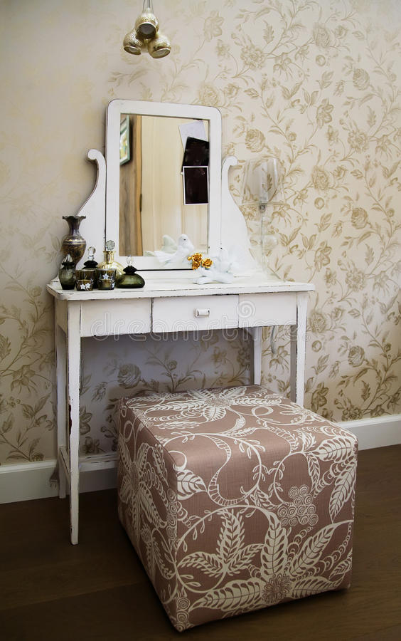 Download Toilet table stock photo. Image of white, interior, indoors - 11226438