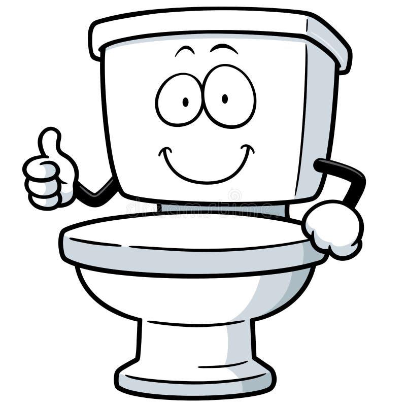 Toilet stock illustration