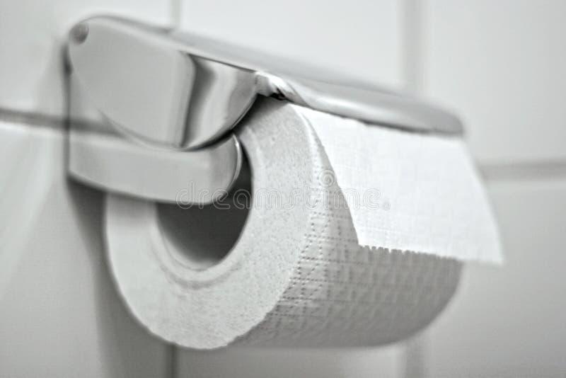 Toiletpaper imagens de stock