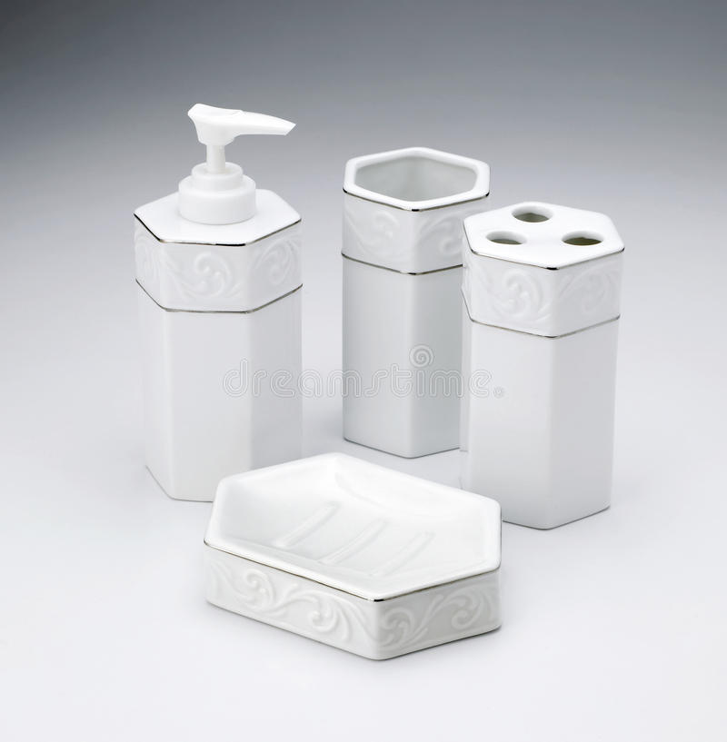 Toiletries Kit Set royalty-vrije stock foto's