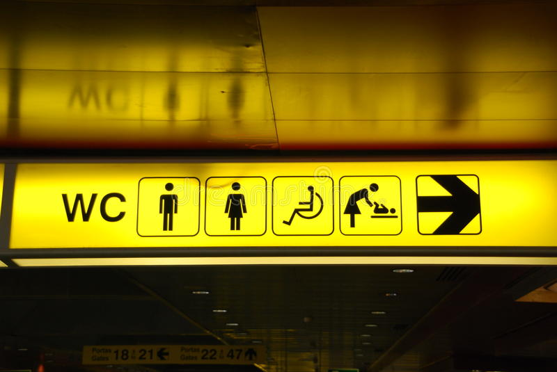 Download Toilets stock image. Image of lavatory, icon, direction - 13984781
