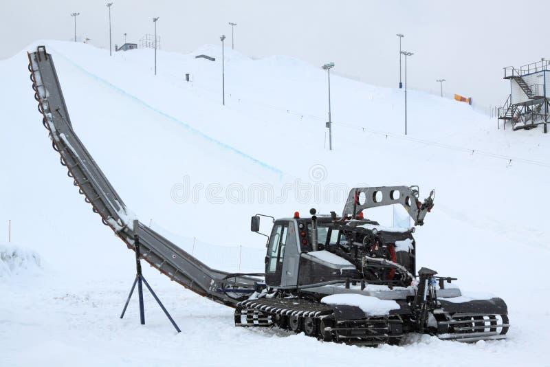 Toilettage de neige photos libres de droits